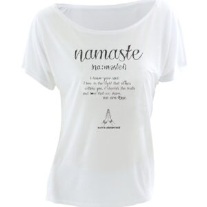 Yoga T-Shirt Namaste Love
